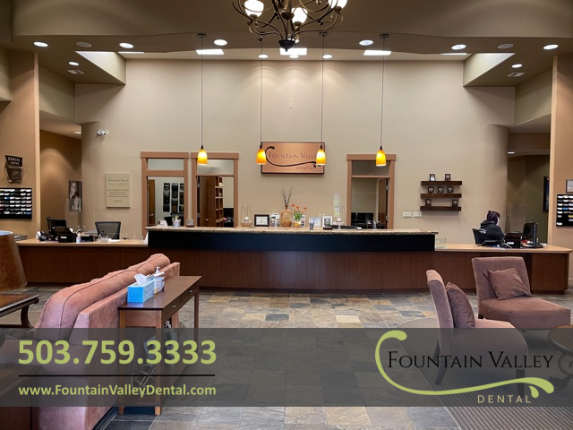 Fountain Valley Dental Interior Office Pic Dentist Dr Ben Whited DDS in Molalla OR.